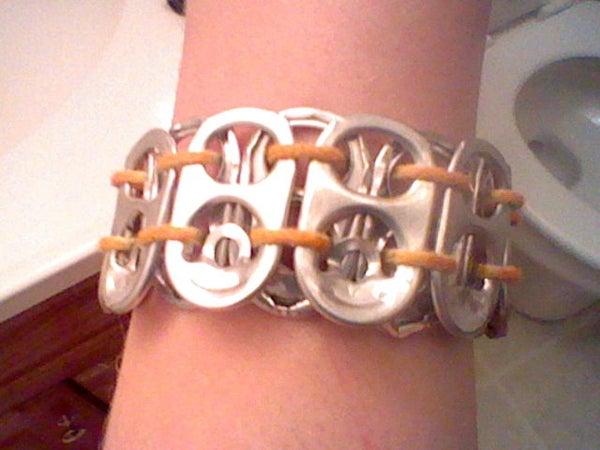 Make a Can Tab Bracelet
