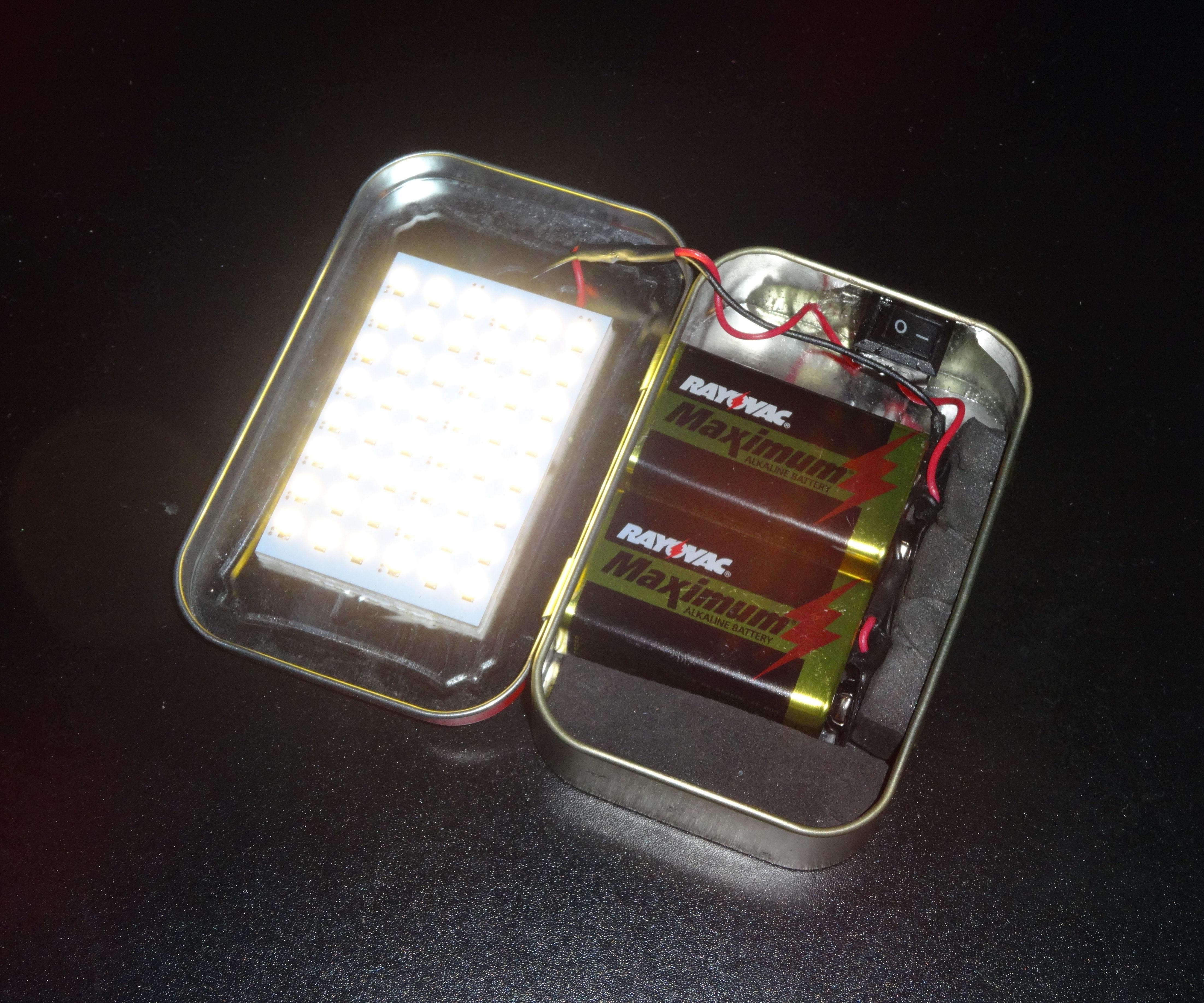 Altoids Flashlight