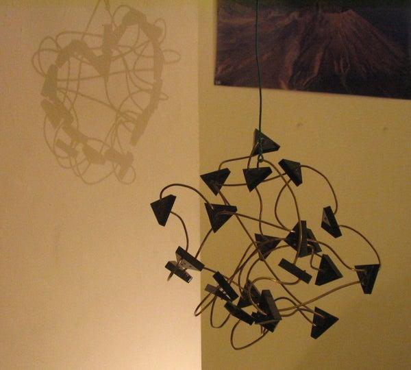 Secret Image Shadow & Light Sculpture
