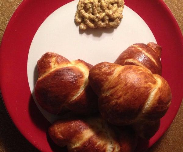 Homemade German Pretzel Knots