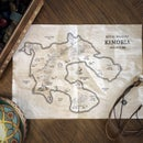 How to Make RPG Maps With Procreate | With Free Brushes