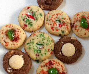 Old Fashioned Ice Box Cookies (Three Variations)