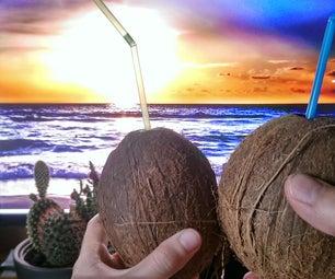 椰子白色俄罗斯 - 在椰子里面!