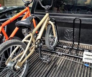 Cheap Bike Rack for a Pickup Truck Bed