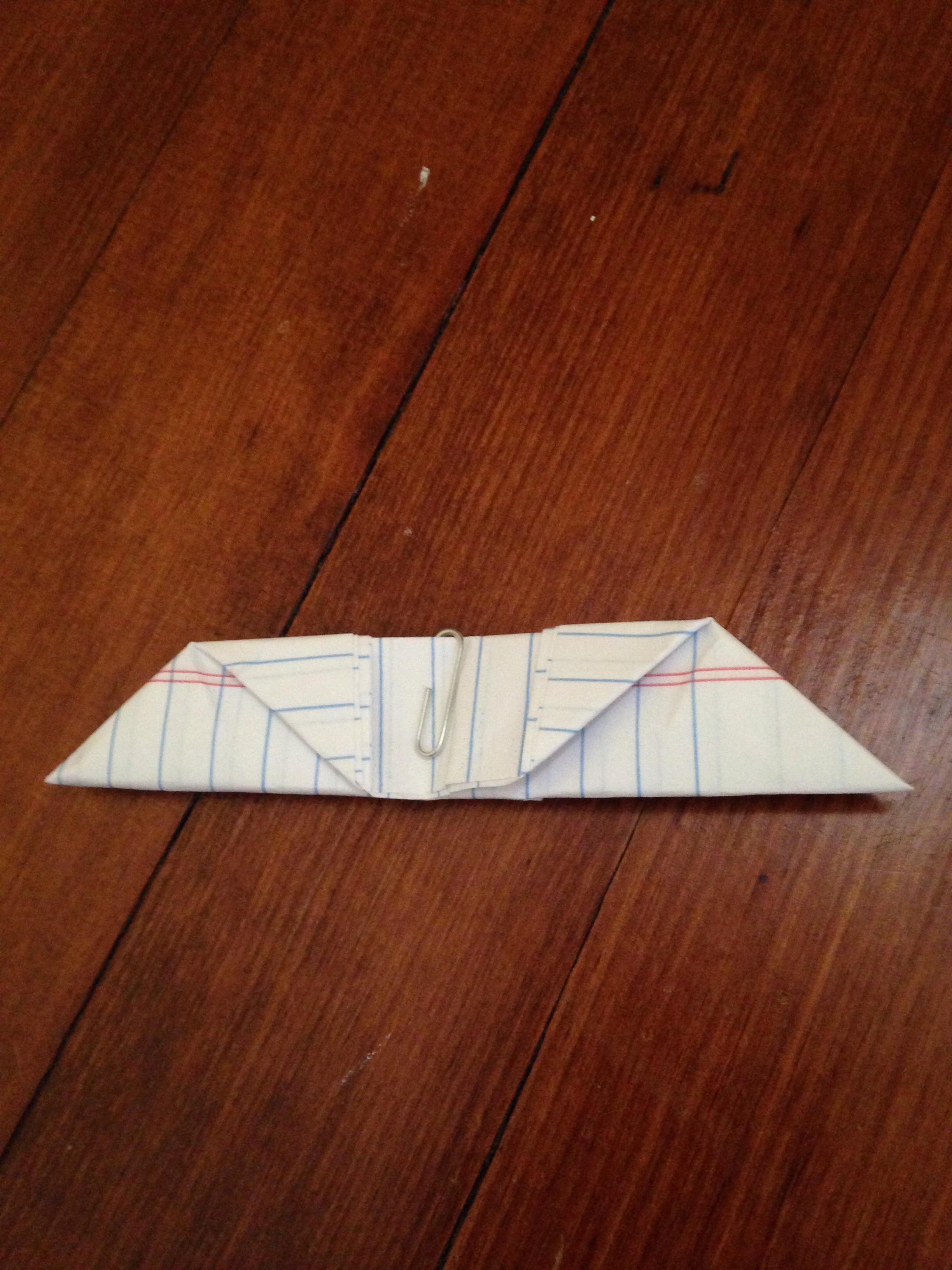 Easy Paper Batarangs