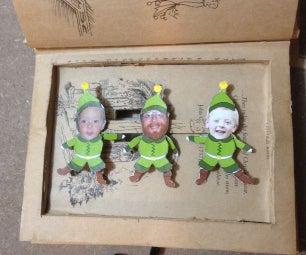 """Animatronic Christmas Book """"Elf Yourself"""""""
