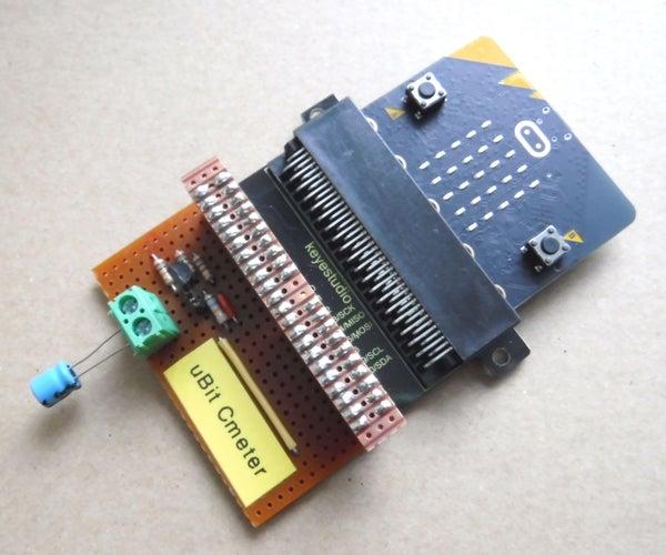 Microbit Capacitance Meter