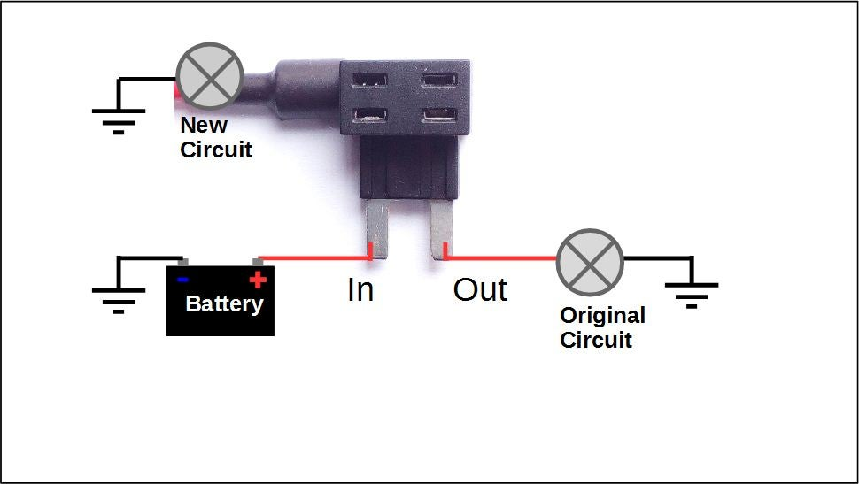 How to Add a Circuit to Your Car : 8 Steps (with Pictures) - Instructables | Adding To Fuse Box |  | Instructables