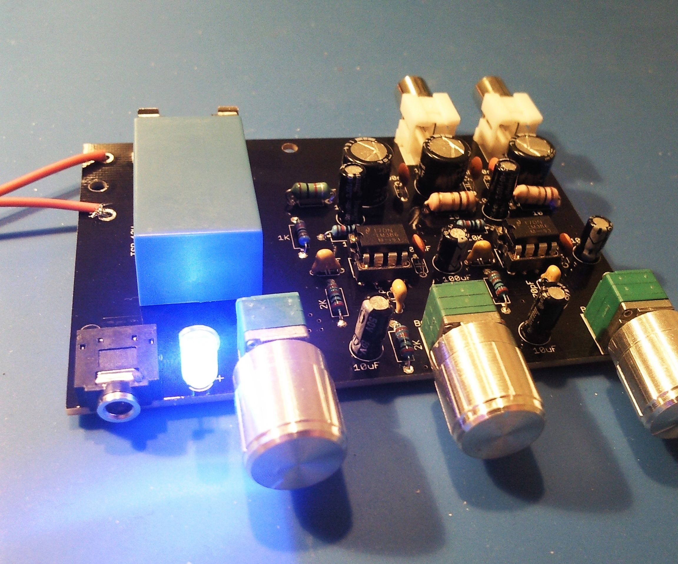Assembling of LM386 DYI Stereo Amplifier Kit