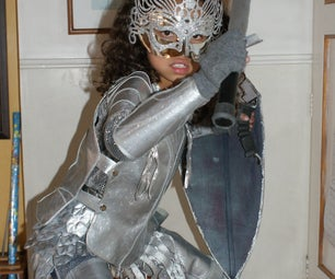 Alice in Wonderland Costume - Armor Medieval