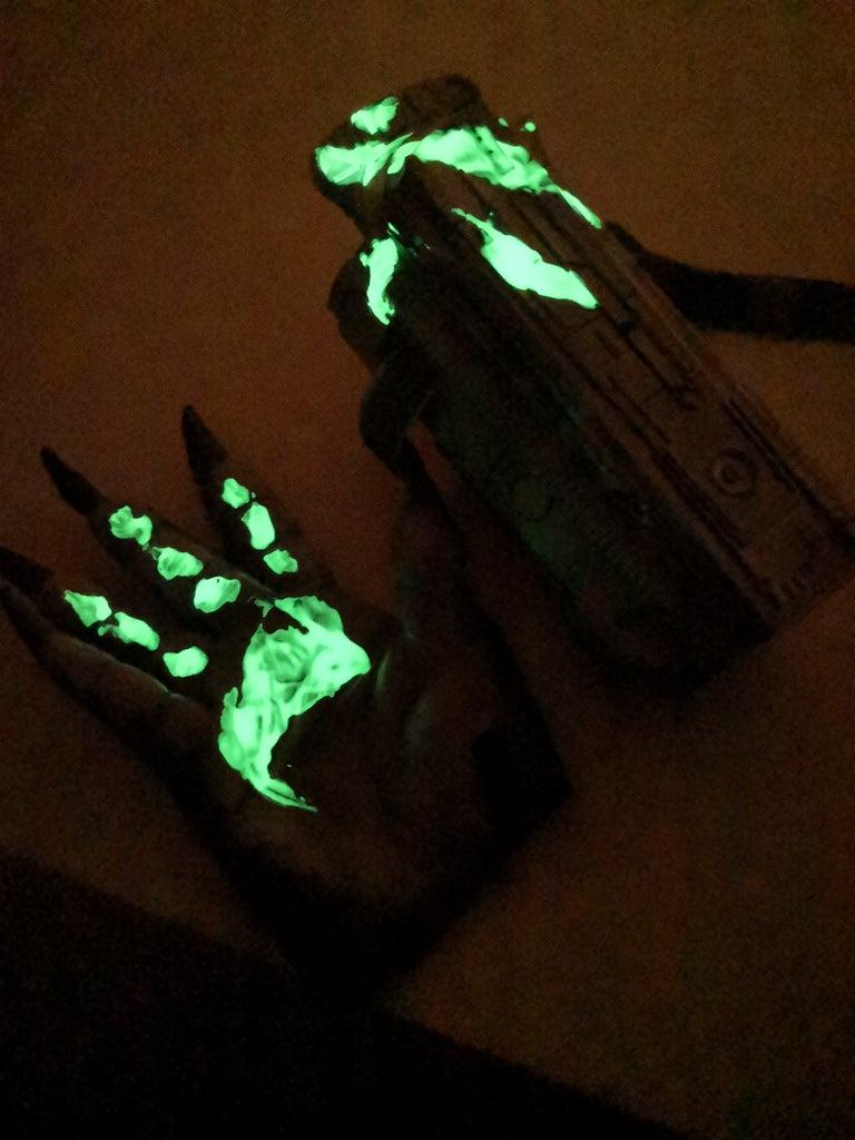 Fluorescent Blood