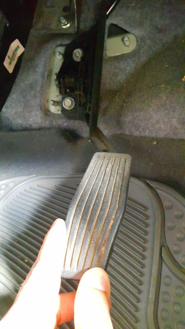 Fixing a Slack Gas Pedal.