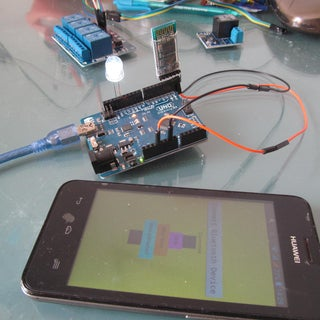 LED Control With Arduino