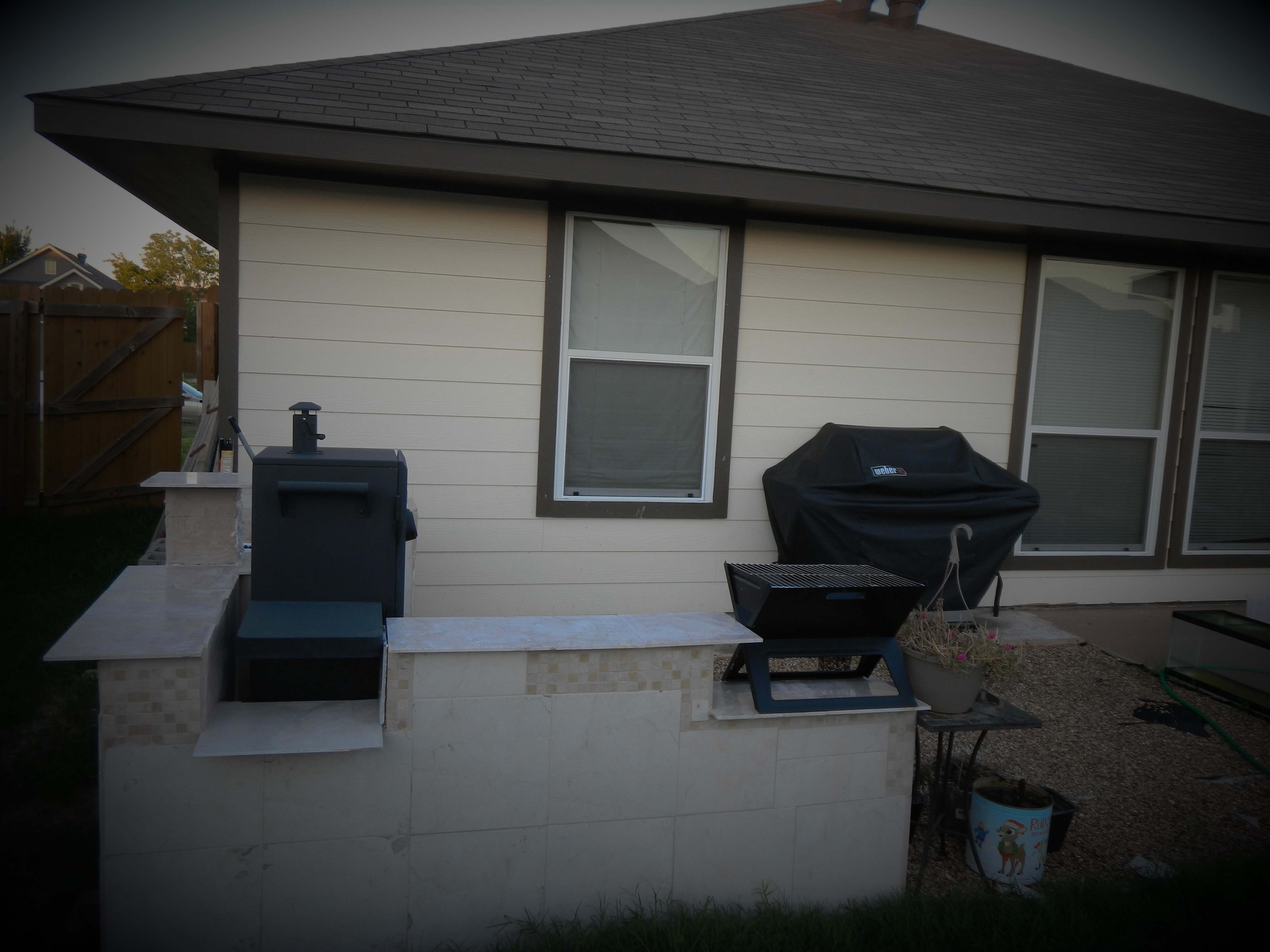 Grilling Area project