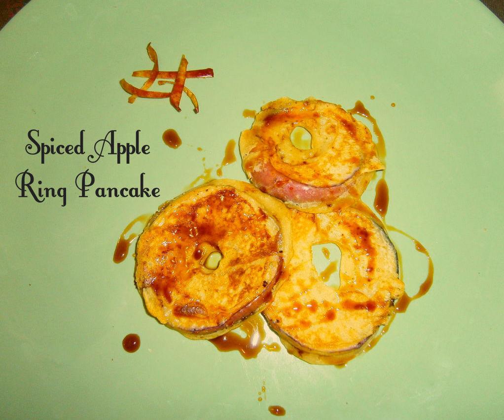 Spiced Apple ring Pancake