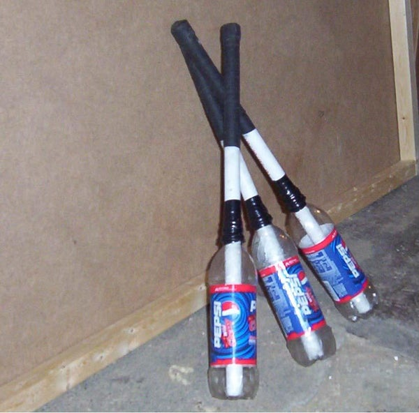 Build Your Own Juggling Clubs