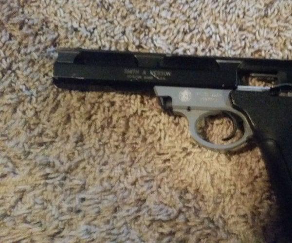 Field Stripping a S&W 22A Pistol