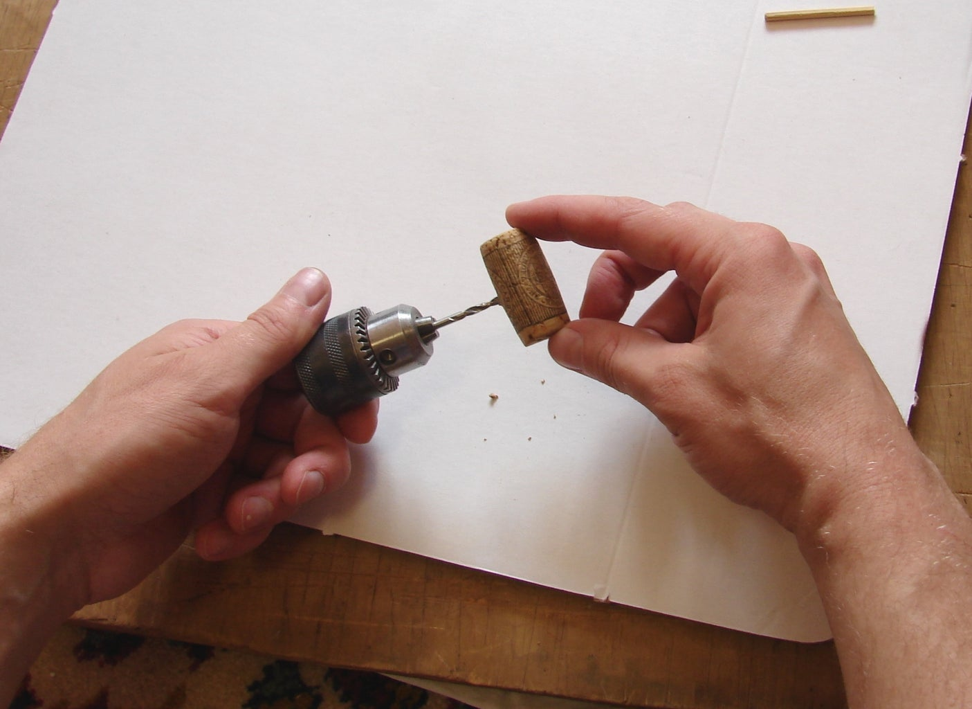 Drilling Holes in Parts