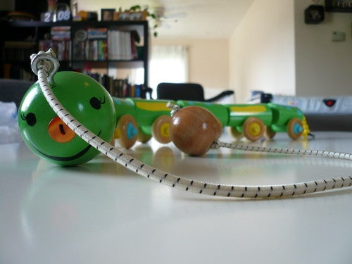 Wooden Centipede Pull Toy for Kids