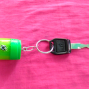 How to Make Mini Key Chain With Torch From Waste Plastic Bottle