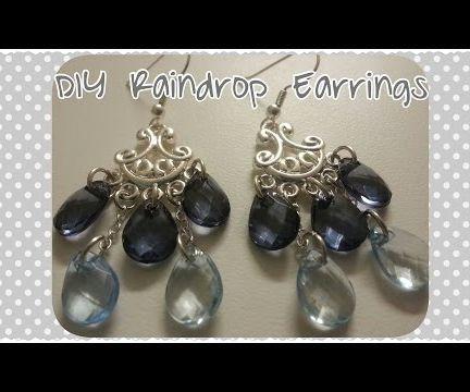 DIY Chandelier Raindrop Earrings