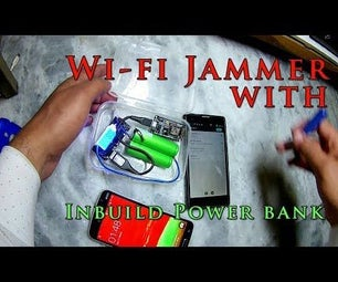 WiFi Jammer With Inbuilt Powerbank