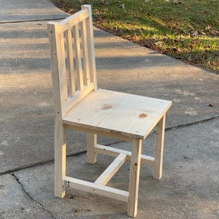 How to Build the Easiest Dining Room Chair Ever