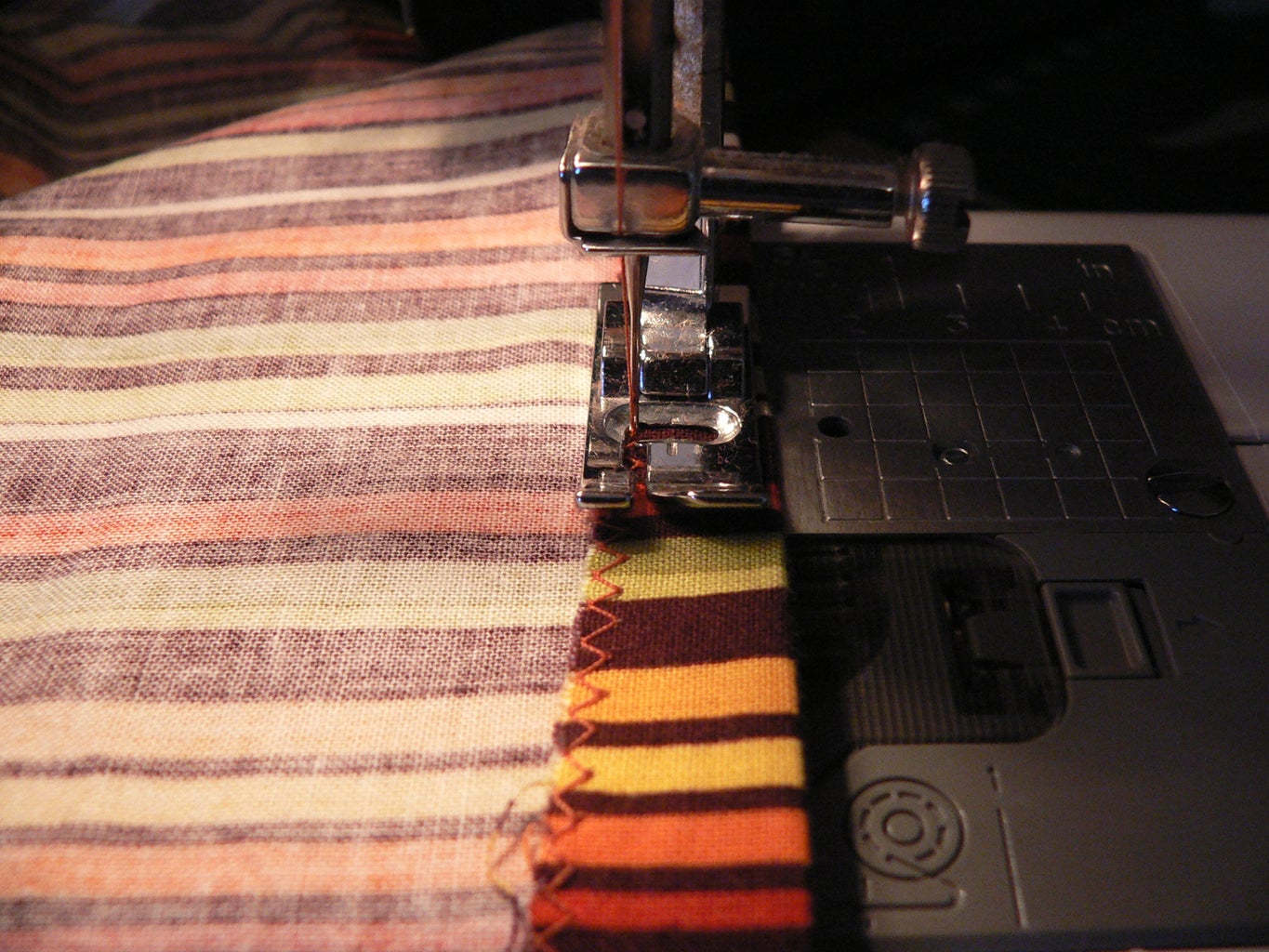 Sewing the Underskirt