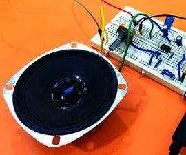 Arduino Text to Speech Converter Using LM386 | Talking Arduino Project | Talkie Arduino Library