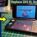 Reemplazo de la pantalla superior para Nintendo 2DS XL
