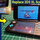 Replace Upper Screen for Nintendo 2DS XL