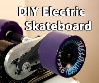 DIY Electric Longboard!