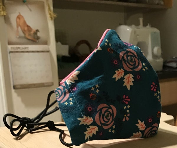How to Sew Face Masks at Home for Healthcare Workers (by Harriet&Ginger)