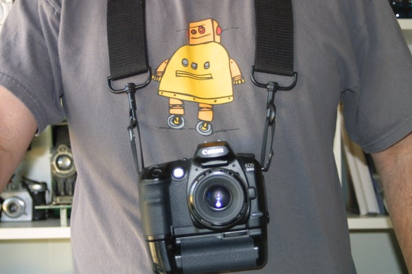 Cheap and Easy Camera Strap