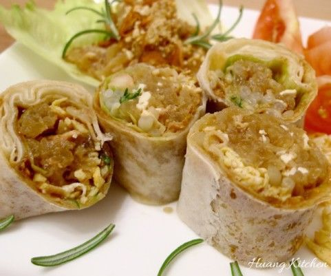 FRESH SPRING ROLLS (POPIAH) 薄饼