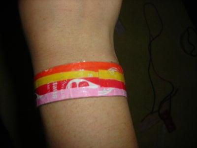 Candy Wrapper Bracelet
