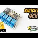 SwitchIoT 4CH - Online 4 Channel Relays Wifi Switch NodeMCU ESP8266