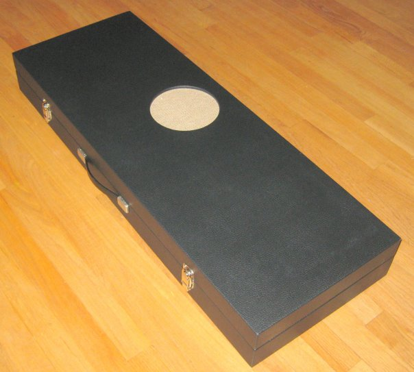 Amp in Case Reproduction Guitar Case