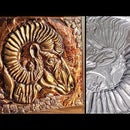 How to Make Embossed Painting | Metal Art