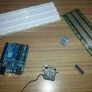 Hand tilt controlled car using arduino