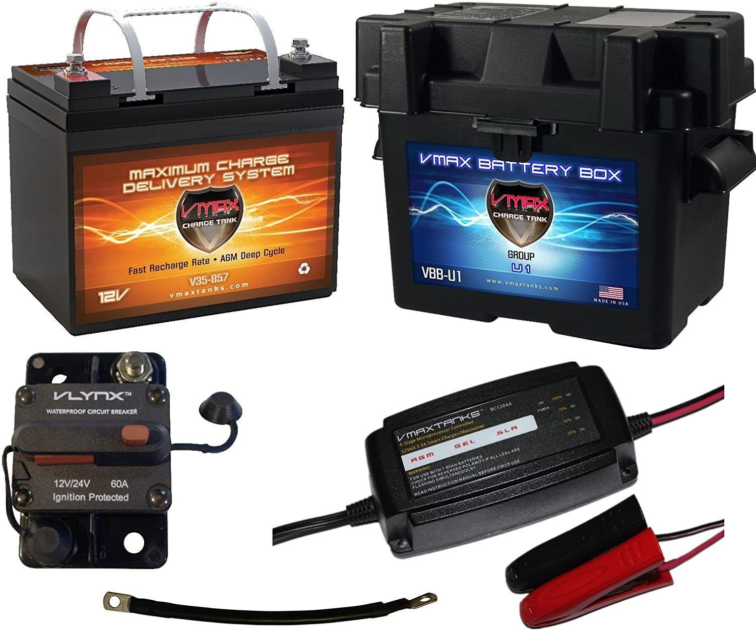 Choosing the Best Trolling Motor Battery (Run Time Examples Included)