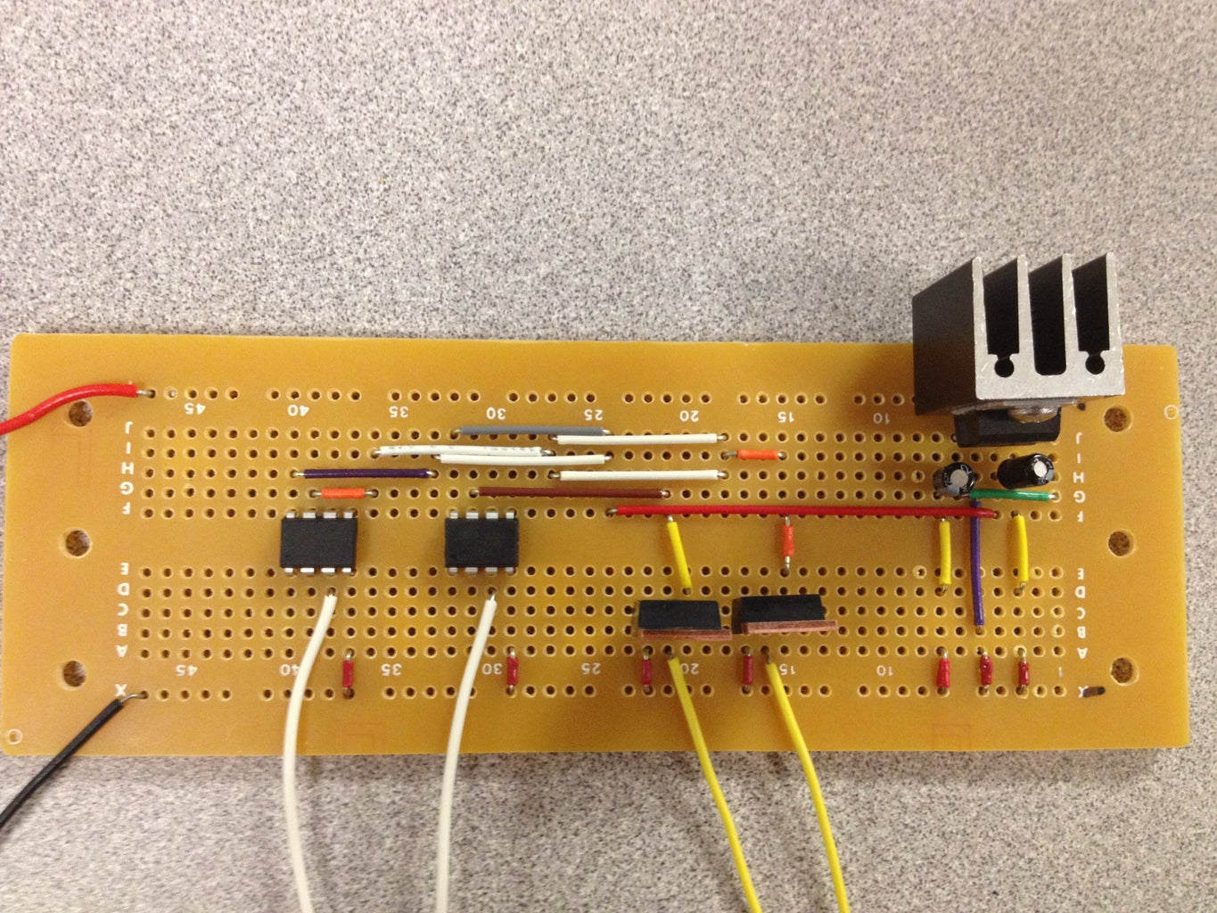 Screw Capacitive Touch Sensor PCB to Wall