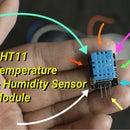 DHT11 Temperature & Humidity Sensor With Arduino