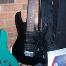 Play music through your guitar
