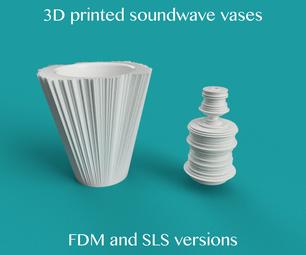 Soundwave Vase