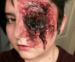 FX Makeup Bloody Eye