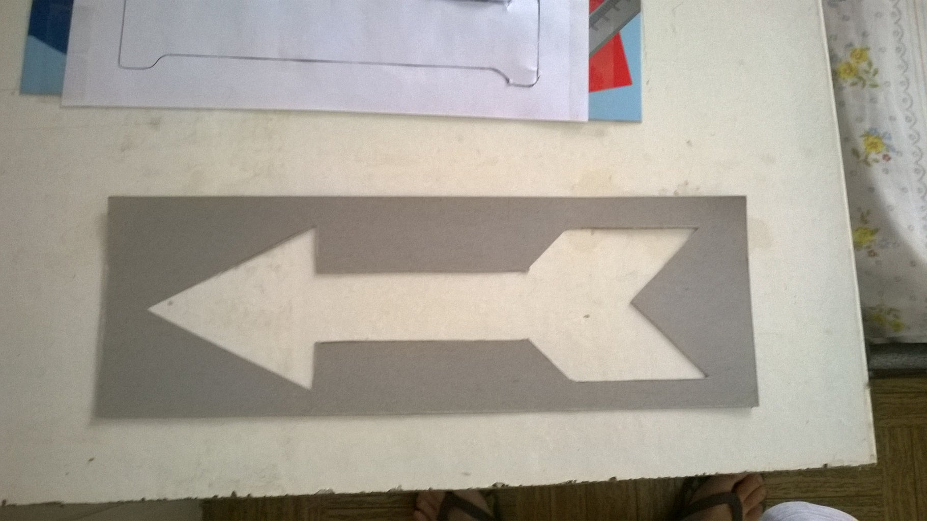 Finding a Quote to Paint on the Pallet and Cutting the Words