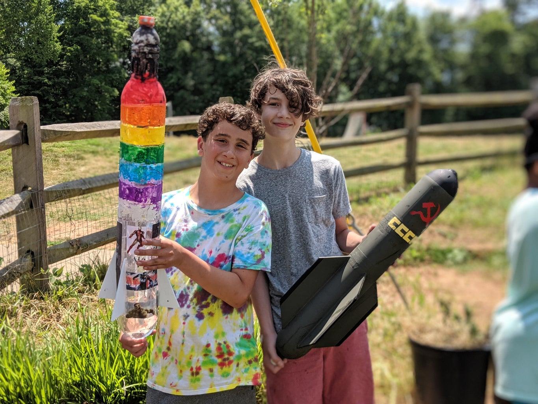 Soda Bottle Rockets!!