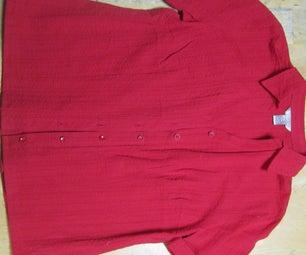 How to Shorten a Button-Down Shirt