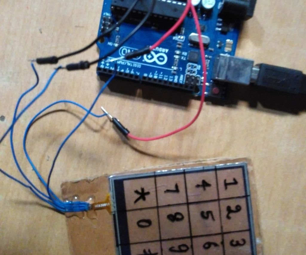 4-wire Touchscreen interfacing with arduino